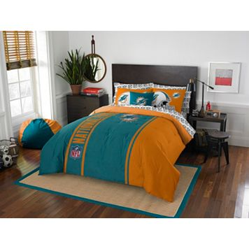 Miami Dolphins Soft & Cozy Full Comforter Set by Northwest