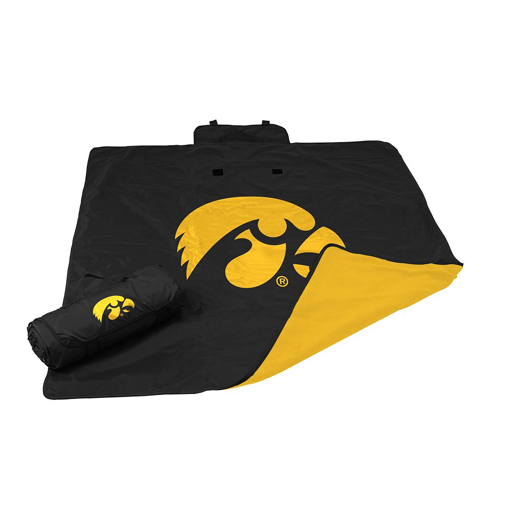 Logo Brand Iowa Hawkeyes All-Weather Blanket