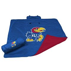 Logo Brand Kansas Jayhawks All-Weather Blanket