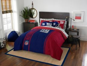 New York Giants Soft & Cozy Full Comforter Set by Northwest