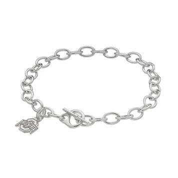 Dayna U Ohio State Buckeyes Sterling Silver Toggle Bracelet