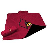 Logo Brand Louisville Cardinals All-Weather Blanket