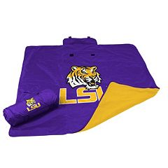Logo Brand LSU Tigers All-Weather Blanket