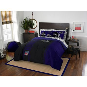 Baltimore Ravens Soft & Cozy Full Comforter Set by Northwest