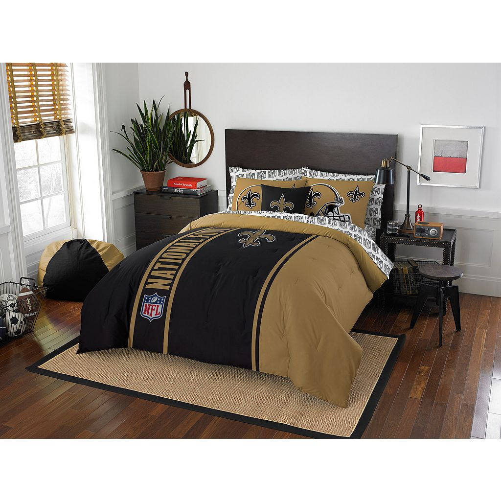 New Orleans Saints Soft & Cozy Full Comforter Set by Northwest