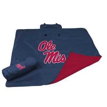 Logo Brand Ole Miss Rebels All-Weather Blanket