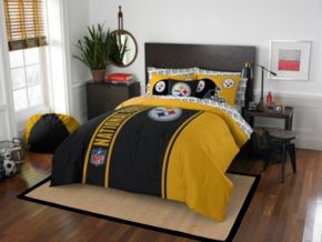 Pittsburgh Steelers Soft & Cozy Full Comforter Set by Northwest