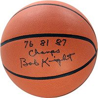 Steiner Sports Bob Knight Signed Basketball