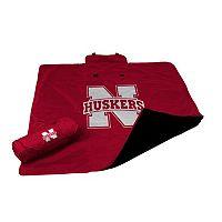 Logo Brand Nebraska Cornhuskers All-Weather Blanket