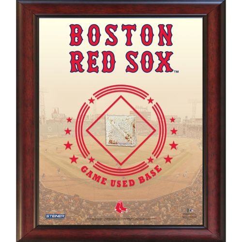 Steiner Sports Boston Red Sox Game Used Base Stadium Collage