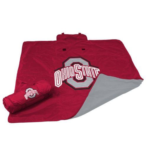 Logo Brand Ohio State Buckeyes All-Weather Blanket