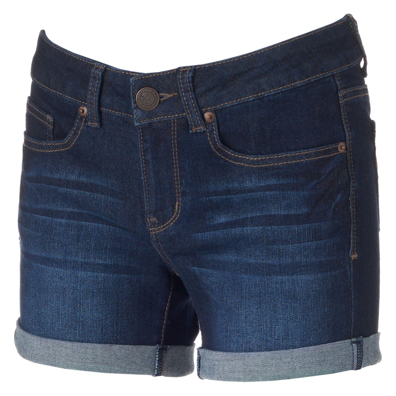 Denim Shorts For Juniors