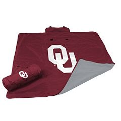 Logo Brand Oklahoma Sooners All-Weather Blanket