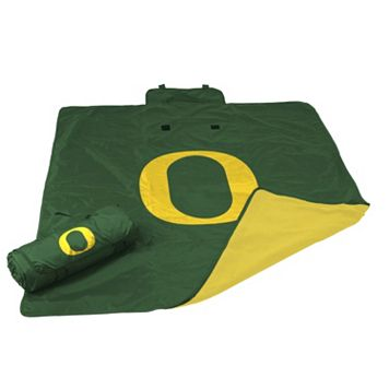 Logo Brand Oregon Ducks All-Weather Blanket