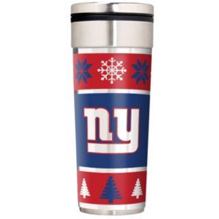 New York Giants Ugly Sweater Travel Tumbler
