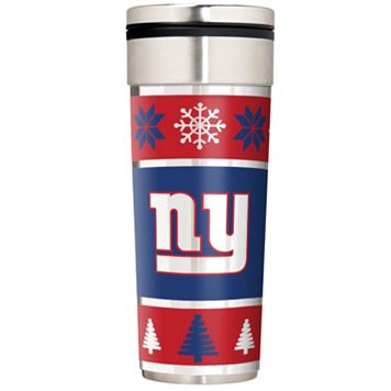 New York Giants Ugly Sweater Travel Tumbler