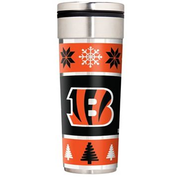 Cincinnati Bengals Ugly Sweater Travel Tumbler