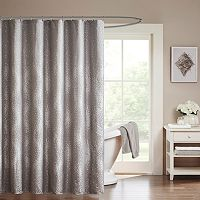 Madison Park Crawford Shower Curtain