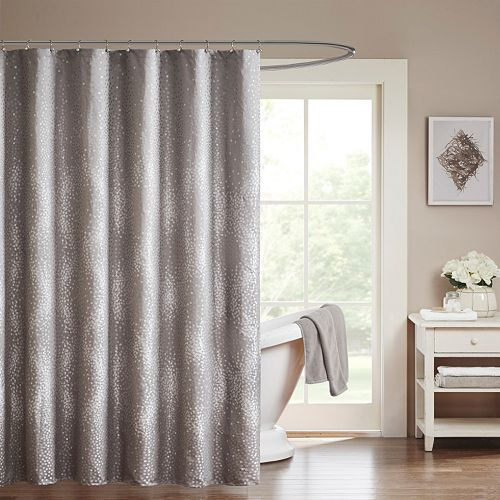 Madison park crawford shower curtain - Madison park bathroom accessories ...