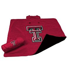 Logo Brand Texas Tech Red Raiders All-Weather Blanket