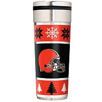 Cleveland Browns Ugly Sweater Travel Tumbler