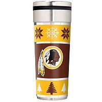 Washington Redskins Ugly Sweater Travel Tumbler