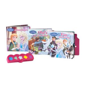 Disney's Frozen Play-a-Sound Stacked 3-book Set