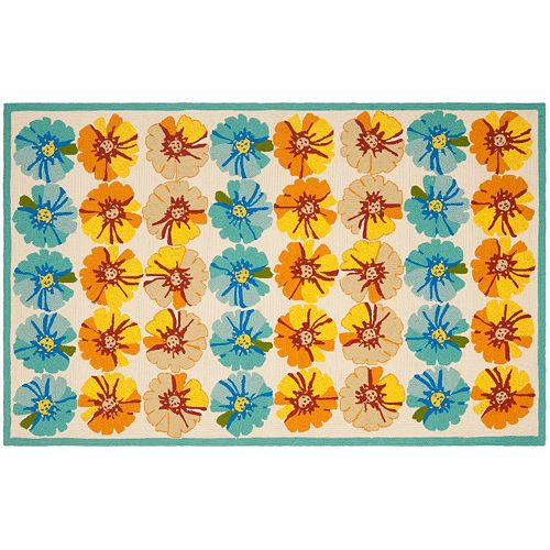Safavieh Four Seasons Woodhaven Floral Indoor Outdoor Rug