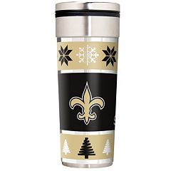 New Orleans Saints Ugly Sweater Travel Tumbler