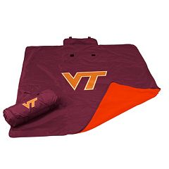 Logo Brand Virginia Tech Hokies All-Weather Blanket