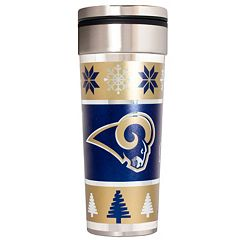 Los Angeles Rams Ugly Sweater Travel Tumbler