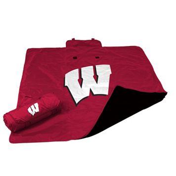Logo Brand Wisconsin Badgers All-Weather Blanket