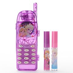 Disney Frozen Girls Light-Up Cell Phone Lip Gloss Case