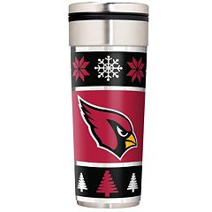 Arizona Cardinals Ugly Sweater Travel Tumbler