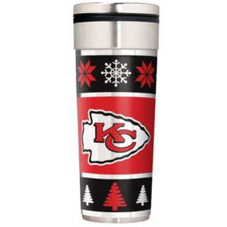 Kansas City Chiefs Ugly Sweater Travel Tumbler