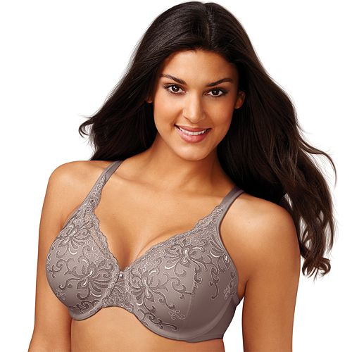 Playtex Secrets Beautiful Lift Embroidered Underwire Bra 4513