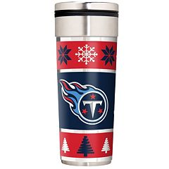 Tennessee Titans Ugly Sweater Travel Tumbler