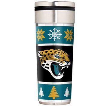 Jacksonville Jaguars Ugly Sweater Travel Tumbler
