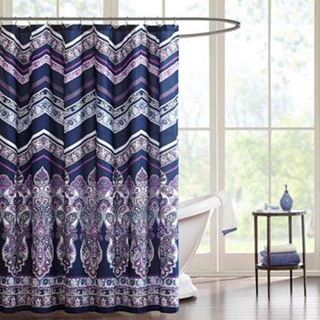 Intelligent Design Kinley Shower Curtain