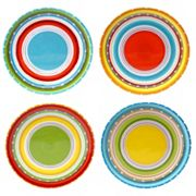 Certified International Mariachi 4 pc Salad Plate Set