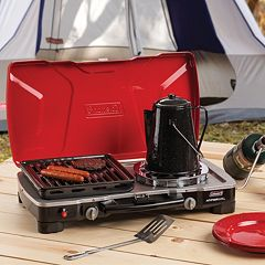 Coleman FyreSergeant HyperFlame 3-in-1 Propane Camp Stove