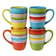 Certified International Mariachi 4 pc Mug Set