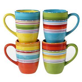 Certified International Mariachi 4-pc. Mug Set