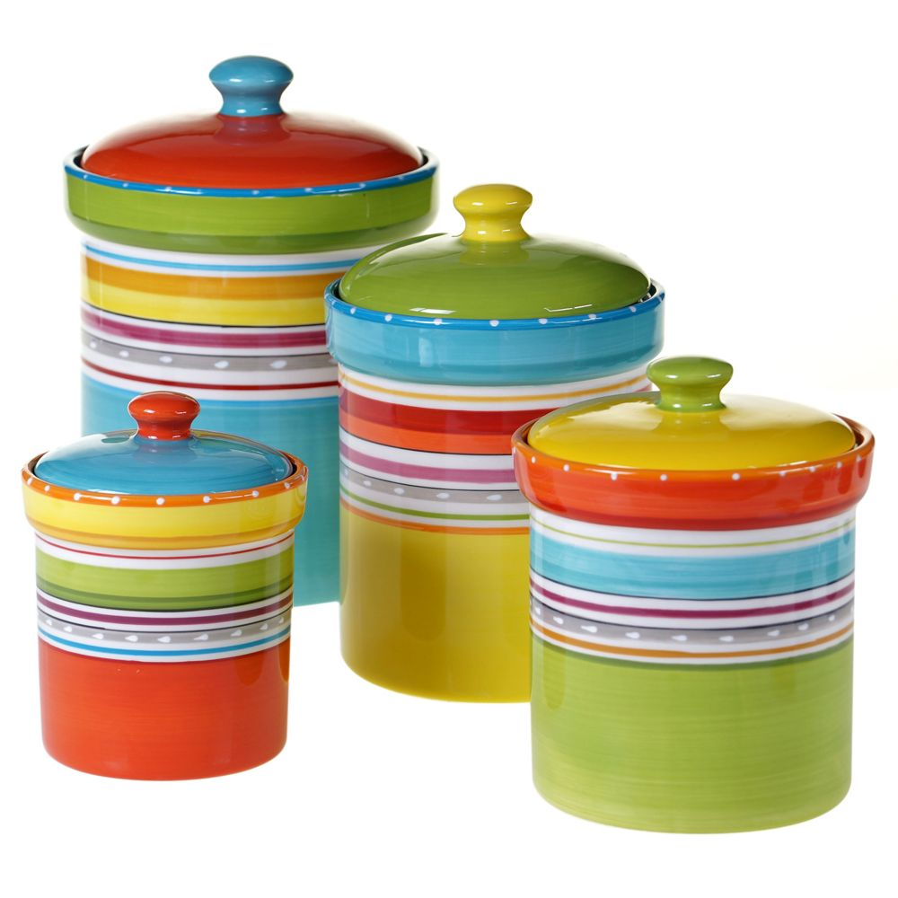 international mariachi 4 pc kitchen canister set kitchen canister set