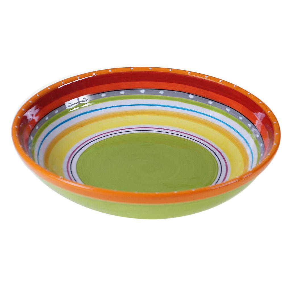 Certified International Mariachi 13-in. Pasta Serving Bowl