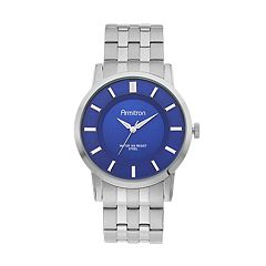 Armitron Men's Stainless Steel Watch - 20/4962BLSV