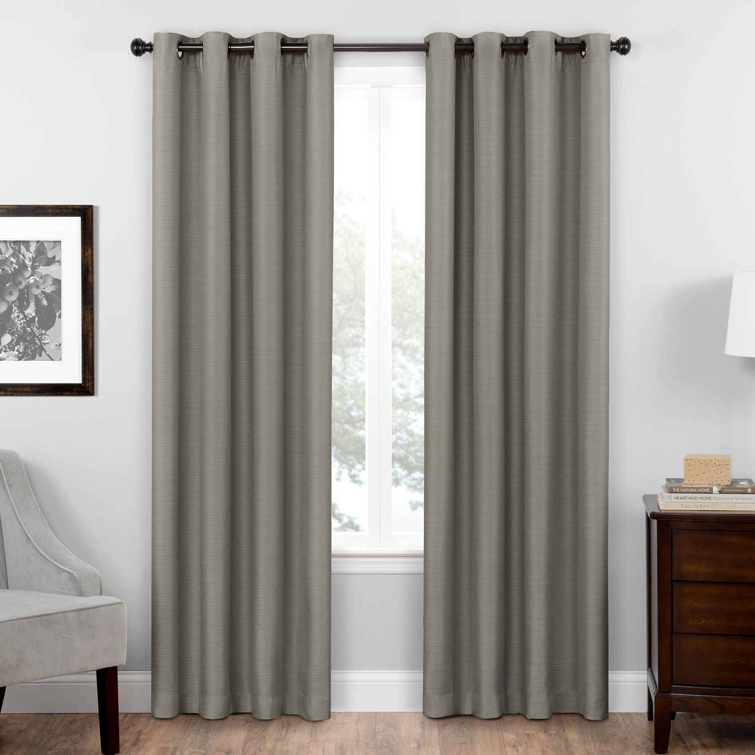 Merveilleux Eclipse Thermaweave Blackout 1 Panel Bryson Window Curtain