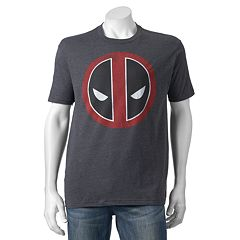 Men's Marvel Deadpool Logo Tee