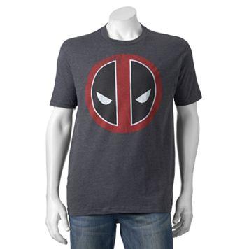 Men's Marvel Deadpool Logo Tee