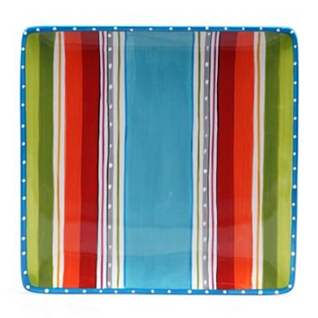 Certified International Mariachi 13-in. Square Serving Platter